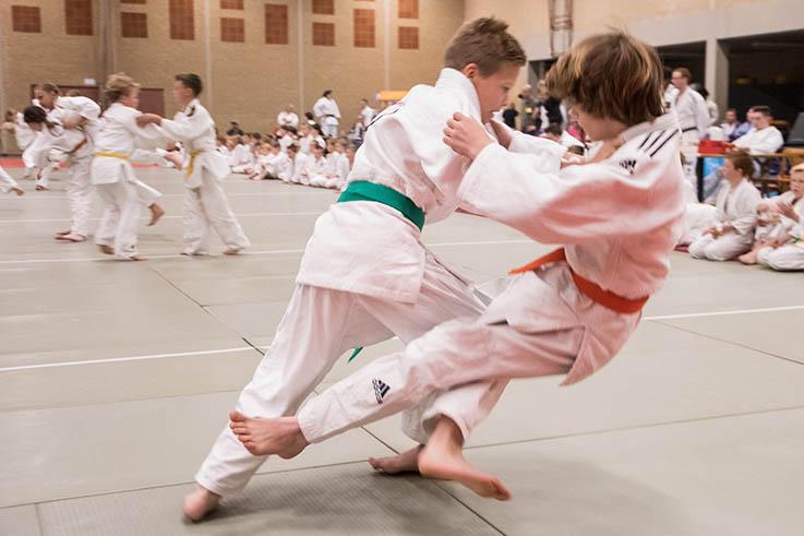 Clubkampioenschappen Judo van zaterdag 18 april afgelast
